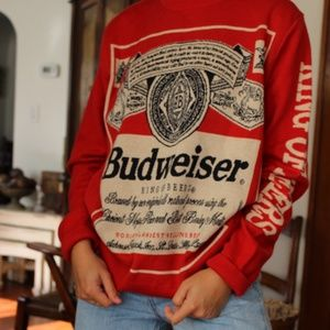 Budweiser King of Beers XL Christmas Sweater